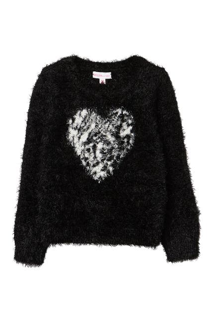 Image of Design History Eyelash Heart Sweater