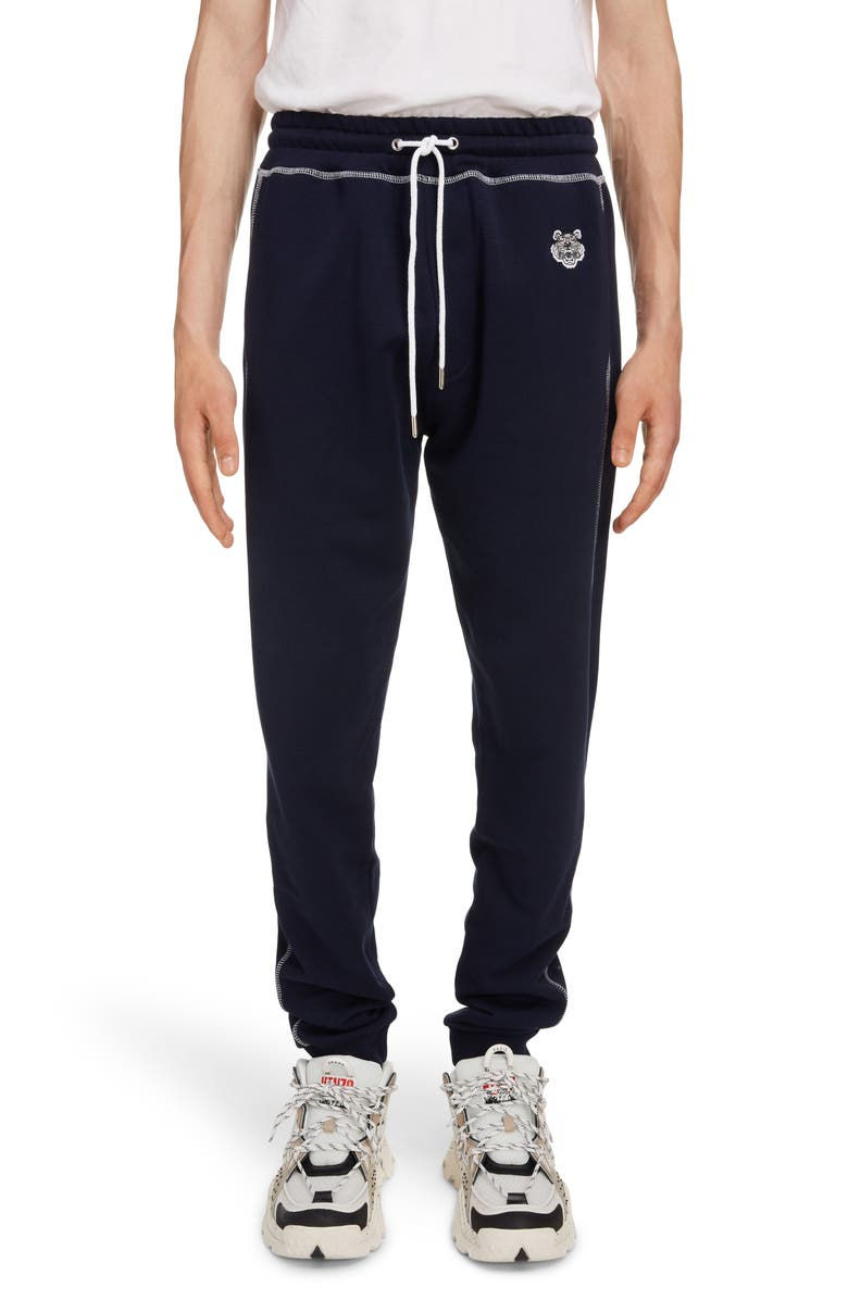 KENZO Embroidered Crest Sweatpants, Main, color, 410