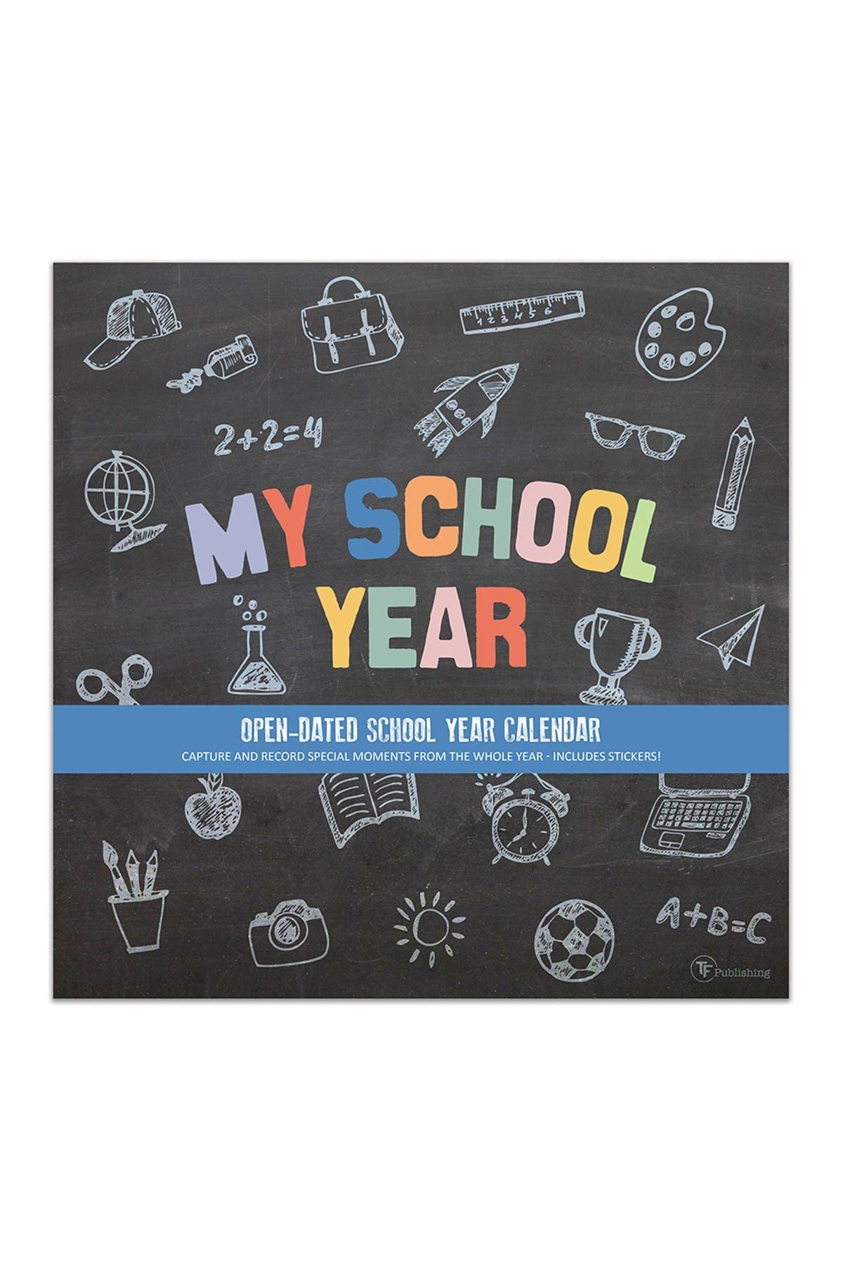 Image of TF Publishing Undated My School Year Memory Wall Calendar