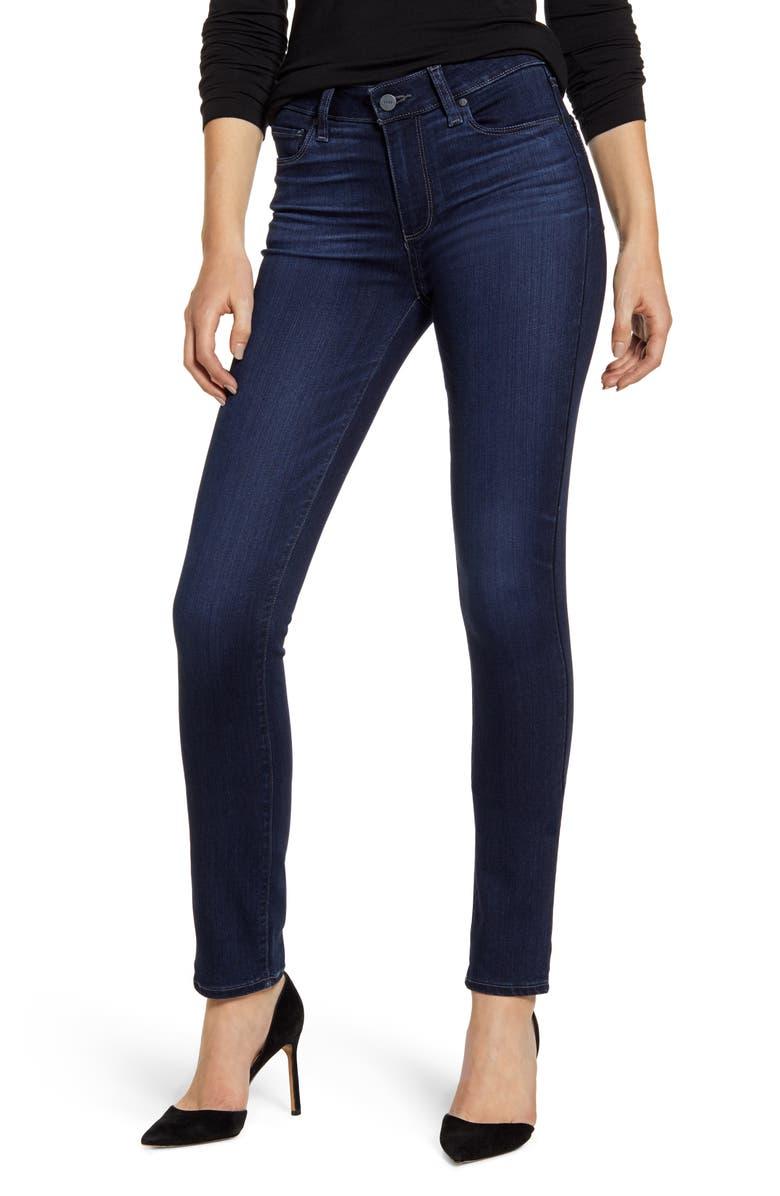 PAIGE Transcend - Skyline Skinny Jeans, Main, color, MALIA