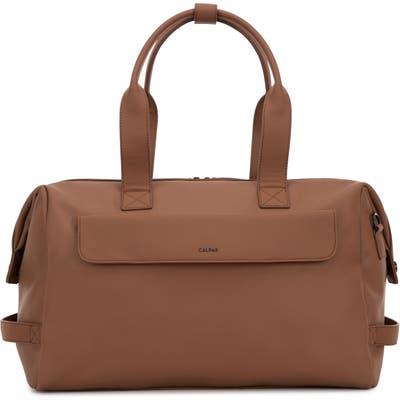 Calpak Hue Duffle Bag - Brown