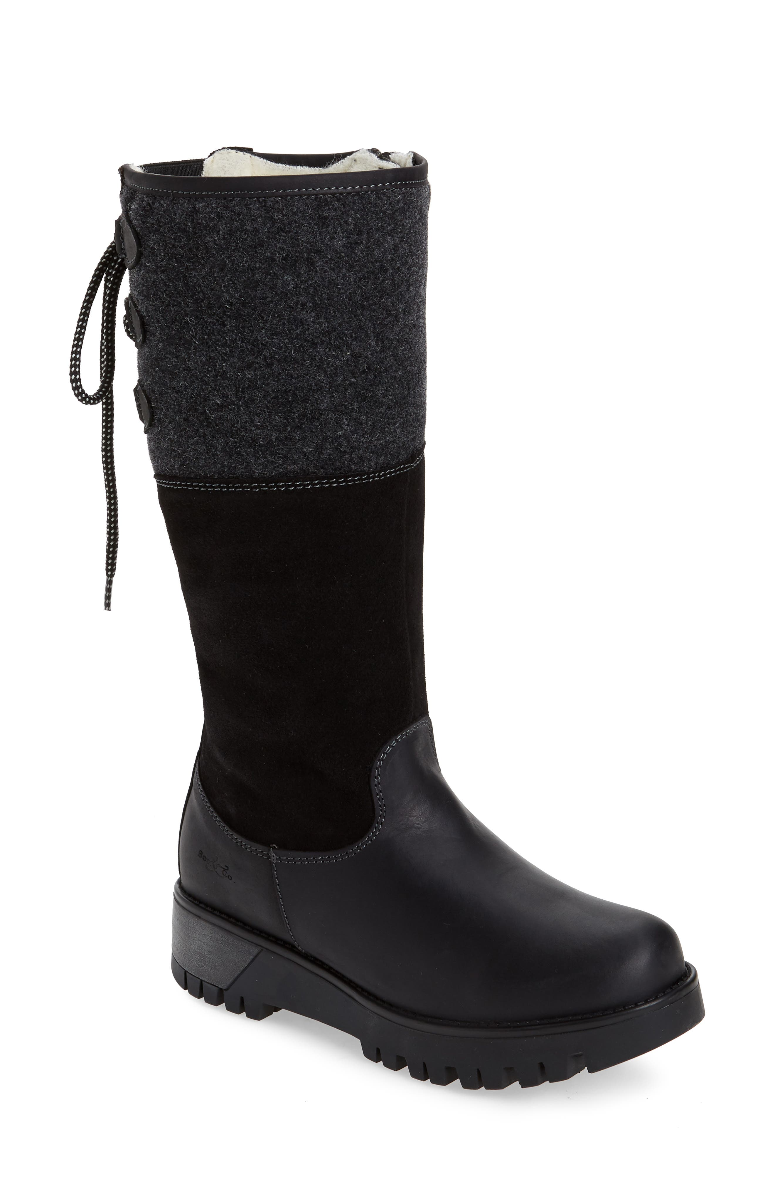 Goose Primaloft Waterproof Boiled Wool Mid Calf Boot
