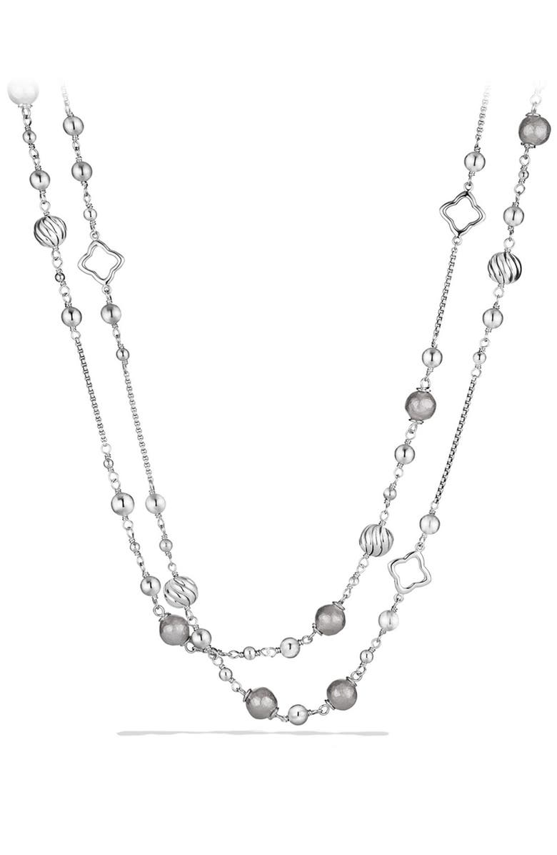 DAVID YURMAN 'DY Elements' Chain Necklace, Main, color, SILVER