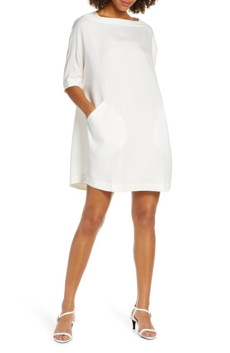 CAARA Racquel Minidress, Main, color, 100