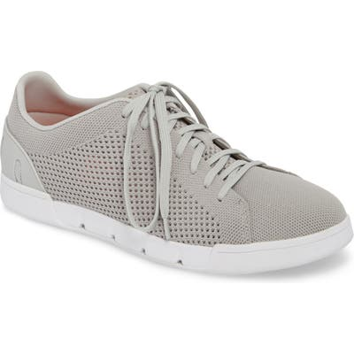 Swims Breeze Tennis Washable Knit Sneaker, Grey