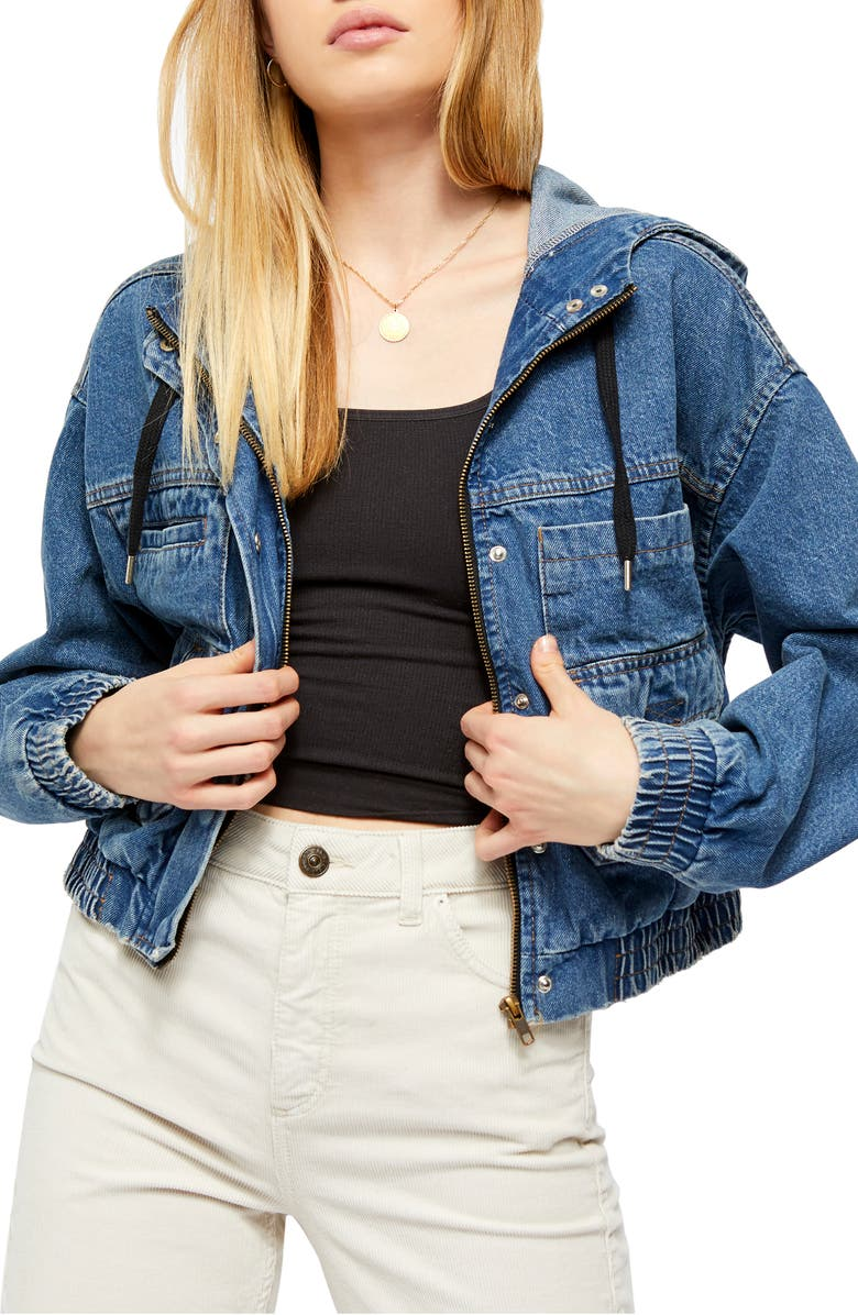 BDG URBAN OUTFITTERS Jared Crop Utility Jacket, Main, color, 486