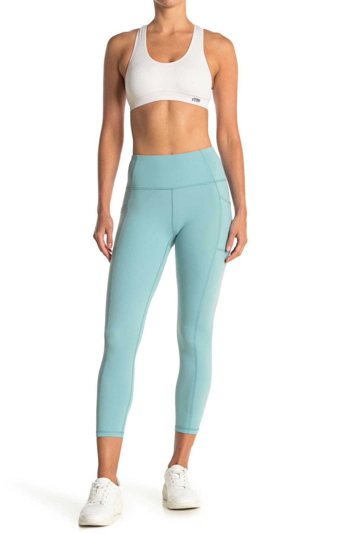 Image of X by Gottex Vanessa Slip Pocket Cropped Ankle Leggings