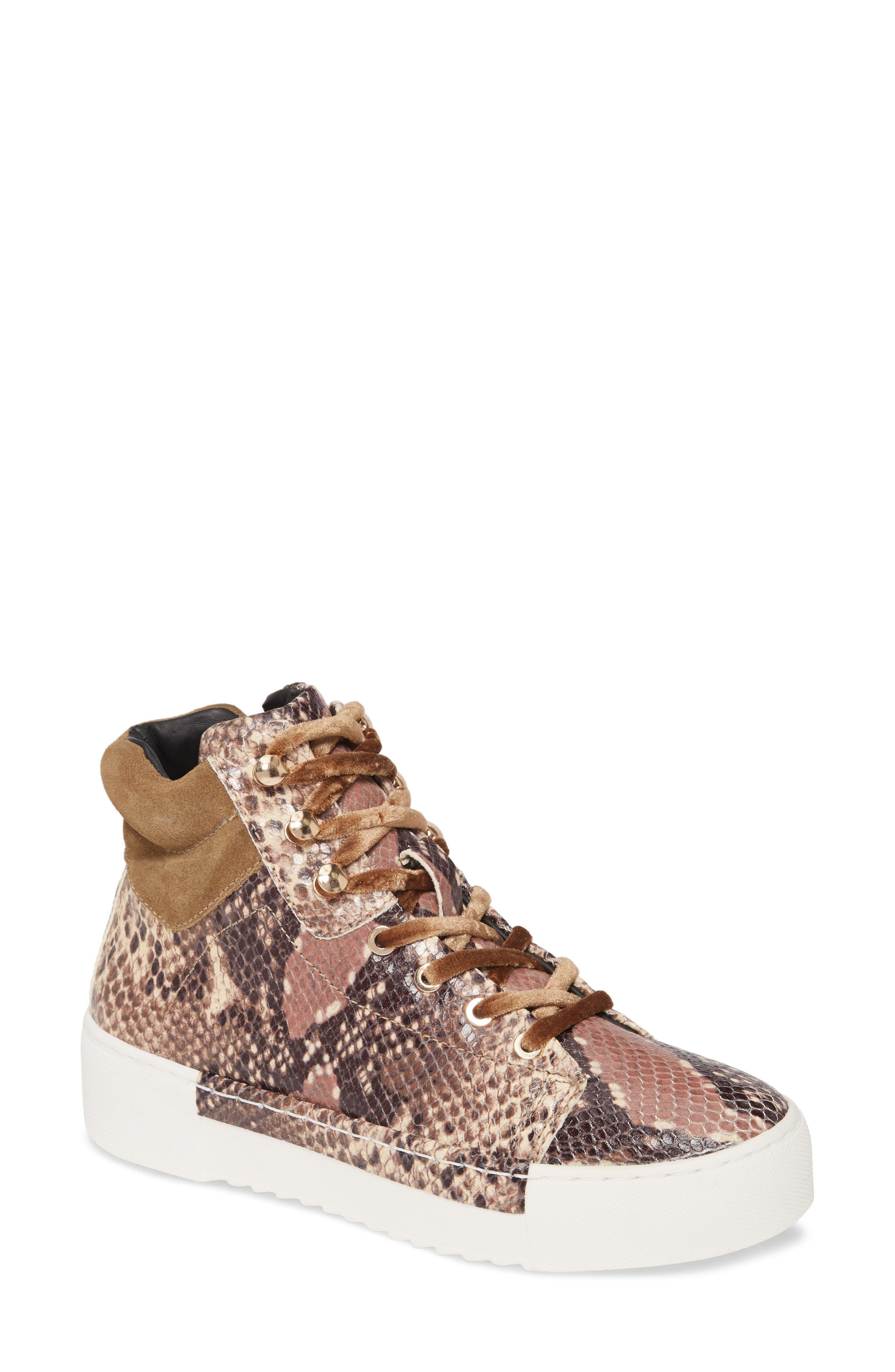 Silow Platform Lace-Up Sneaker