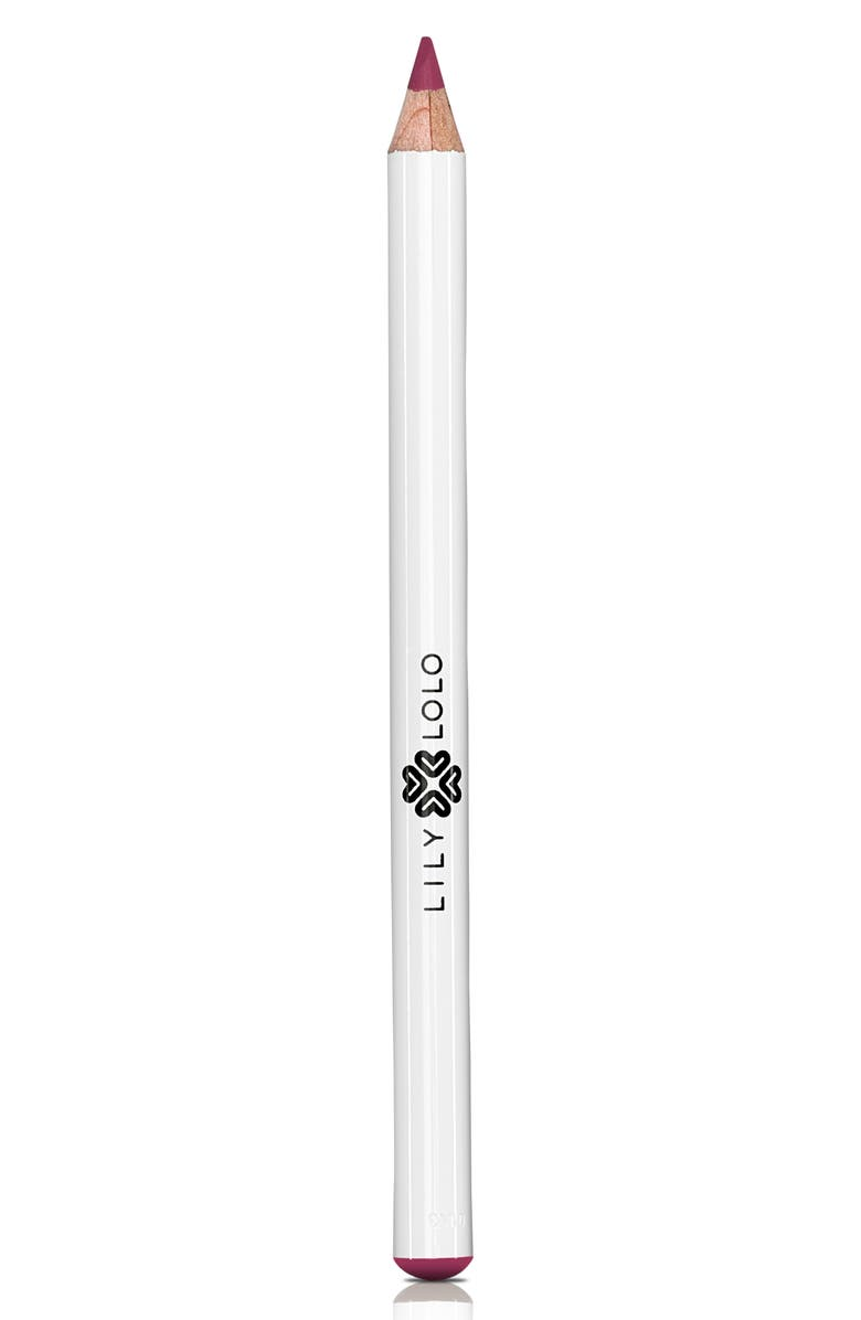 LILY LOLO Natural Lip Pencil, Main, color, TRUE PINK