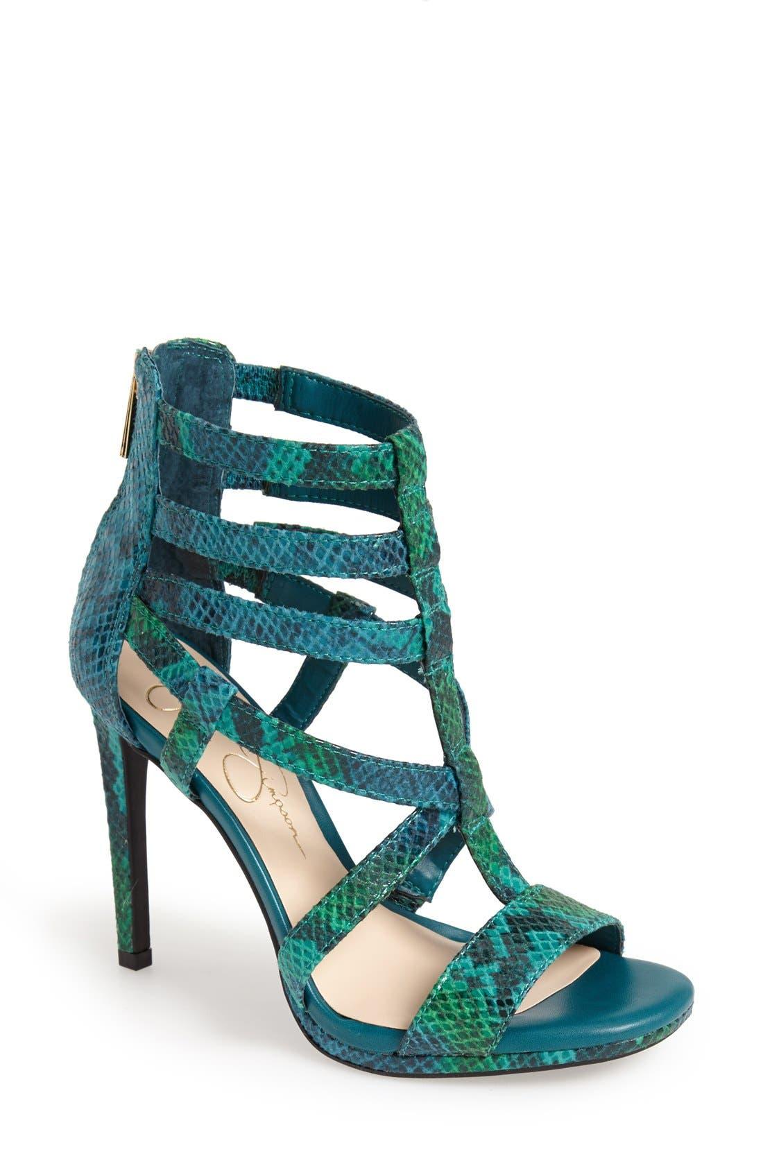 ,                             'Marthena' Sandal,                             Main thumbnail 5, color,                             300