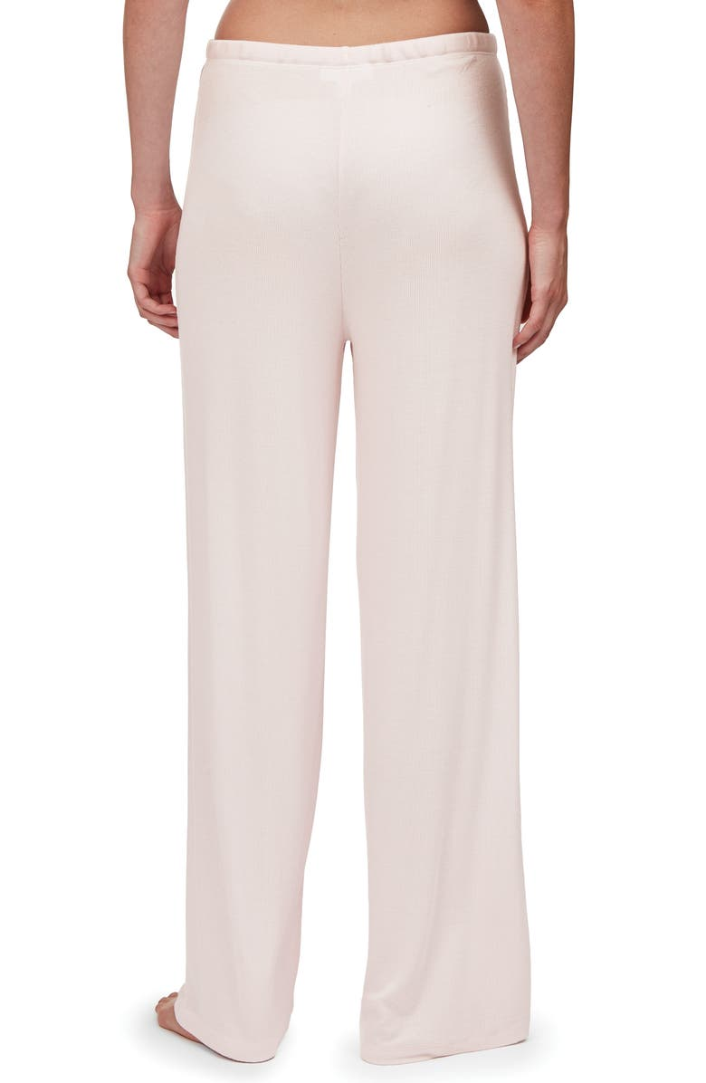 THE WHITE COMPANY Wide Leg Pajama Pants, Main, color, PALE PINK