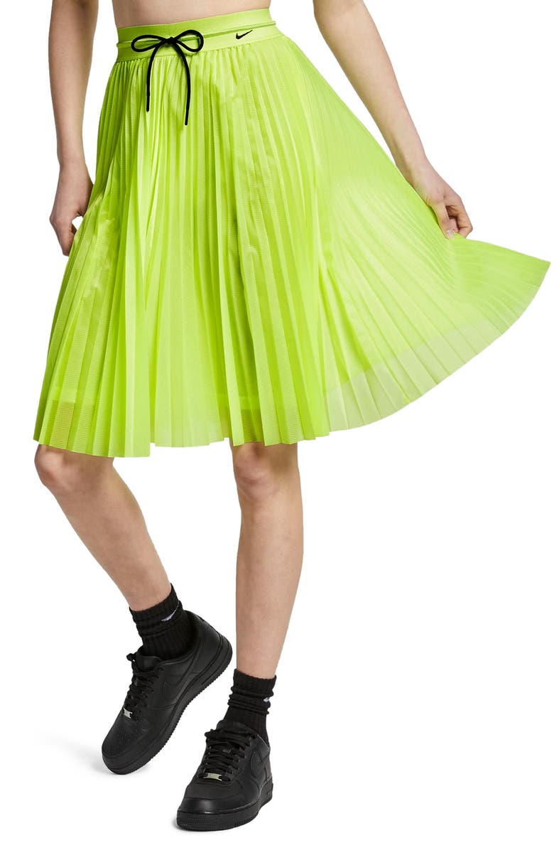 NIKE NikeLab Collection Skirt, Main, color, VOLT GLOW