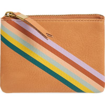 Madewell The Leather Pouch Wallet - Beige