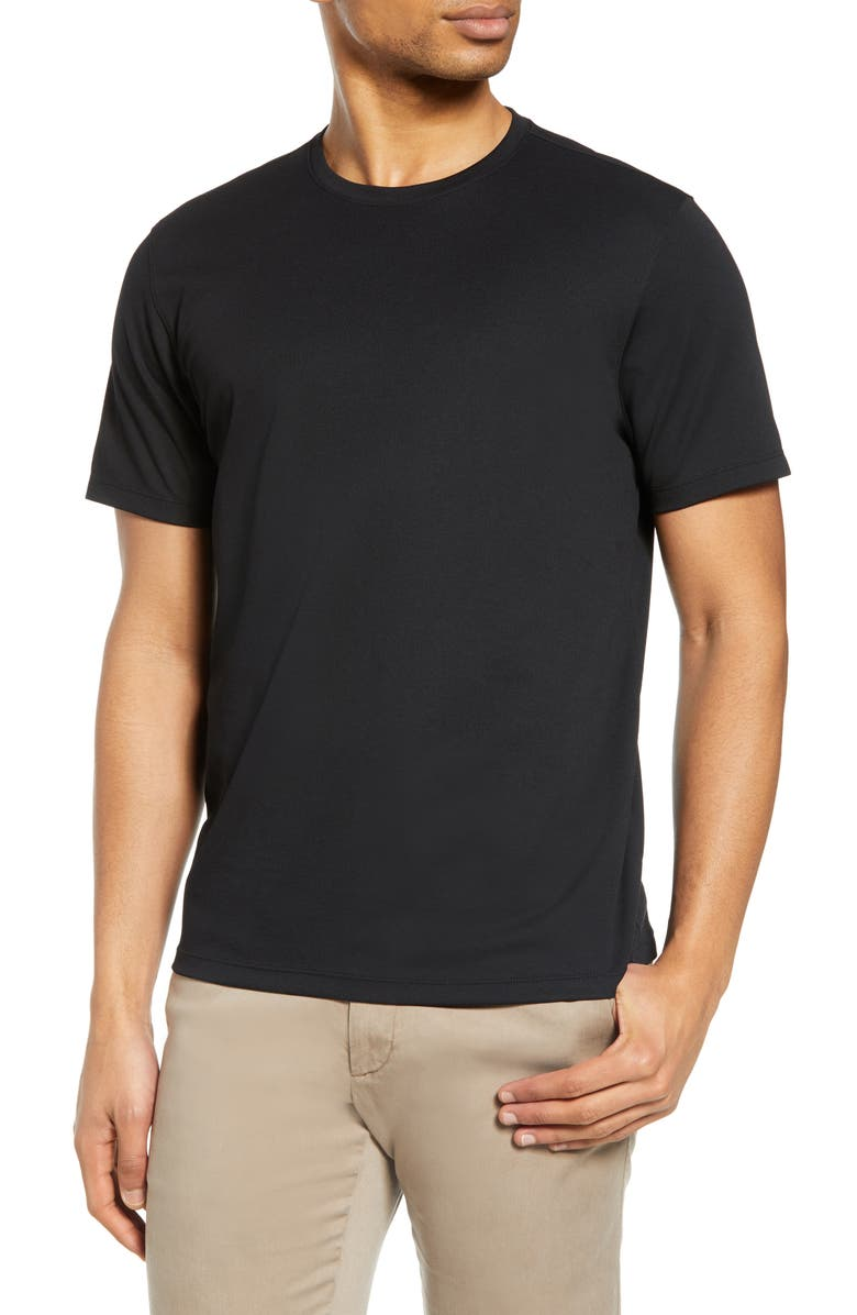 ZACHARY PRELL Brayden T-Shirt, Main, color, ONYX