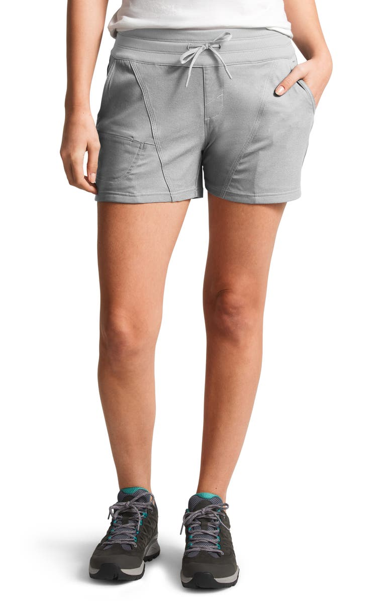 THE NORTH FACE Aphrodite 2.0 Hiking Shorts, Main, color, TNF MEDIUM GREY HEATHER