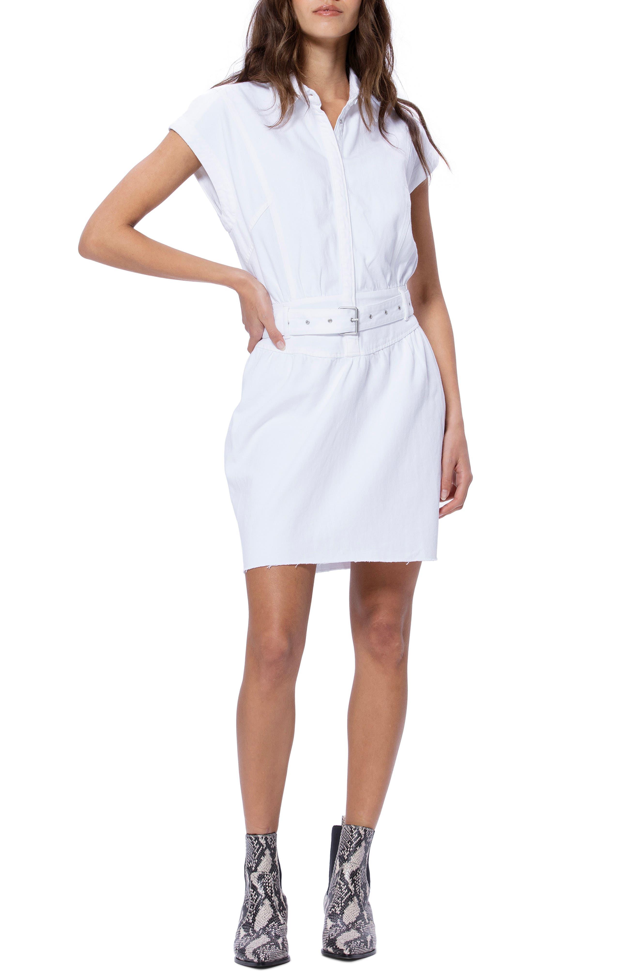 Paige Celina Dress, White