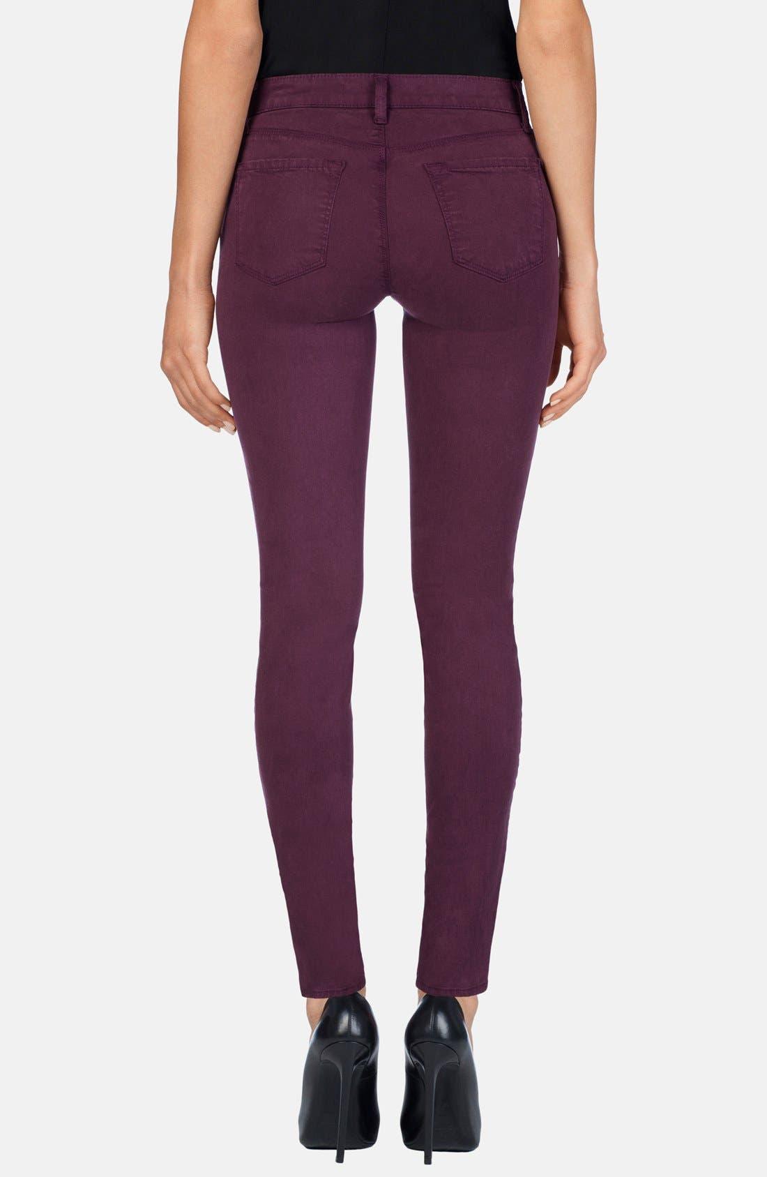 ,                             '485' Mid Rise Super Skinny Jeans,                             Alternate thumbnail 50, color,                             502
