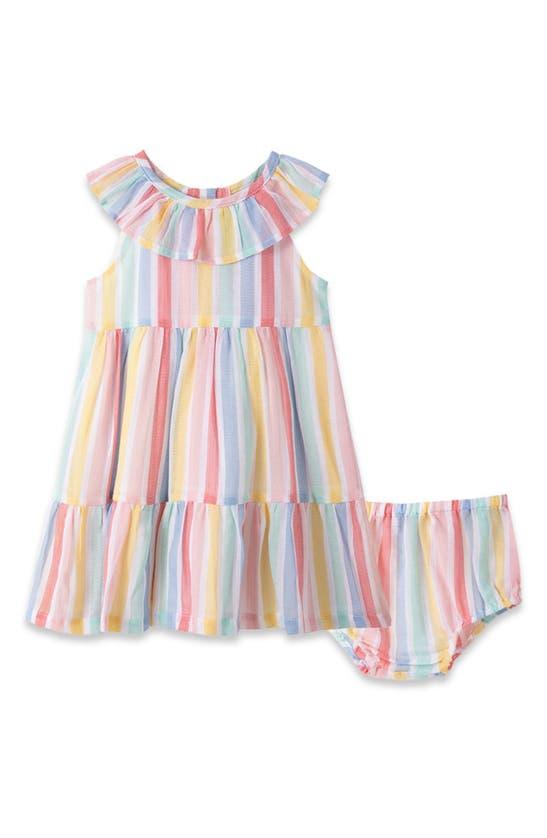 Little Me Dresses STRIPE SUNDRESS