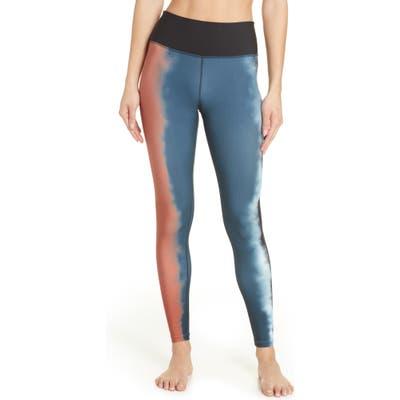 Hurley Quick Dry Gradient Surf Leggings, Blue