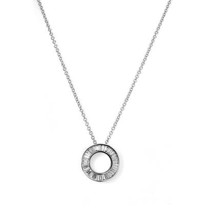 Bony Levy Circle Of Life Small Diamond Pendant Necklace (Nordstrom Exclusive)