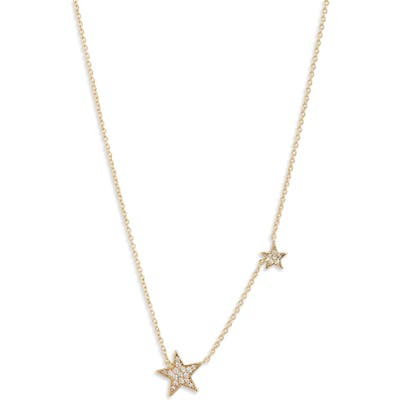 Gorjana Superstar Shimmer 2-Charm Necklace