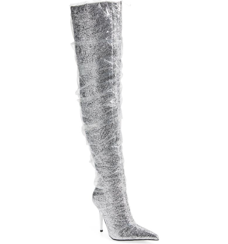 JEFFREY CAMPBELL Gamora Thigh High Boot, Main, color, 040