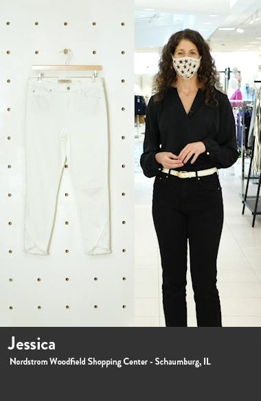 Abby Frayed Crop Skinny Jeans, sales video thumbnail