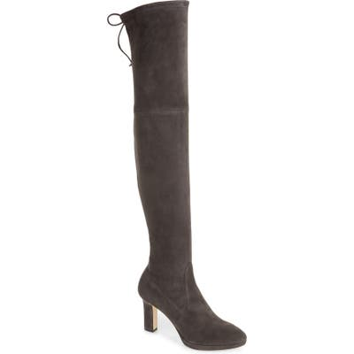 Stuart Weitzman Ledyland Over The Knee Boot, Grey