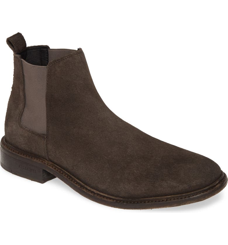 ALLSAINTS Rook Chelsea Boot, Main, color, CHARCOAL GREY