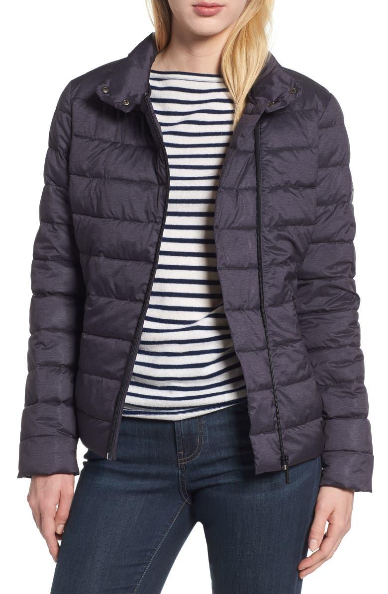 BERNARDO Melange Stretch Jacket, Main, color, 013