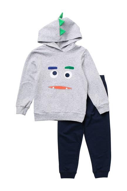 Image of Little Me Monster 2-Piece Sweatshirt Set