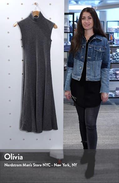 Cashmere Midi Sweater Dress, sales video thumbnail