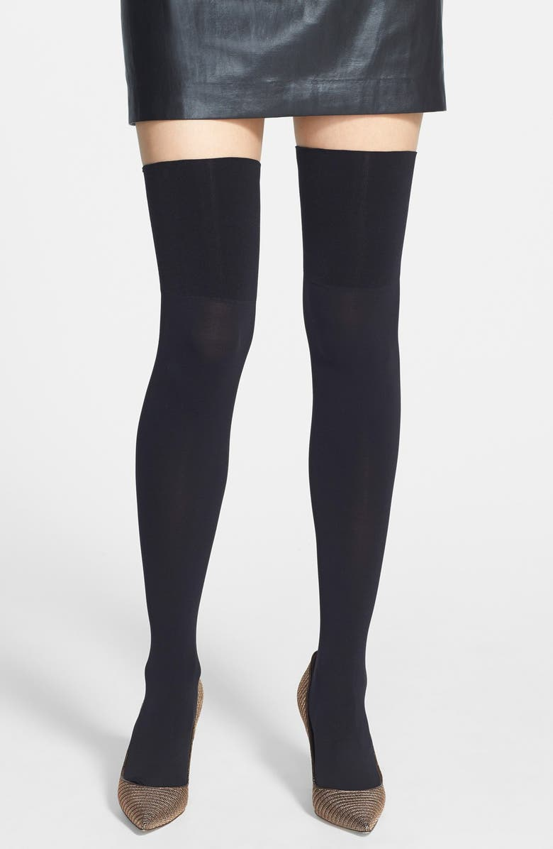 COMMANDO Over The Knee Socks, Main, color, 001