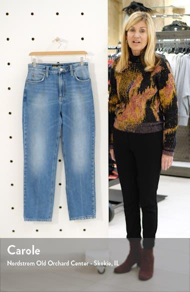 High Waist Straight Leg Ankle Jeans, sales video thumbnail