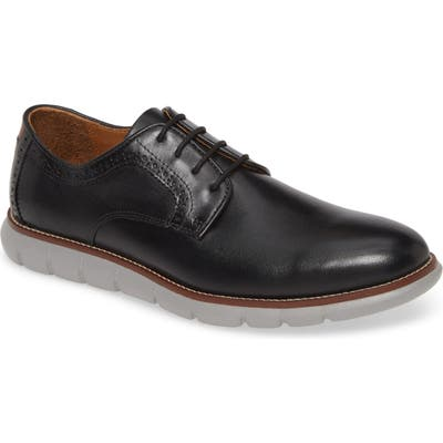 Johnston & Murphy Holden Plain Toe Derby, Black