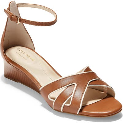 Cole Haan Hana Grand Wedge Sandal B - Brown