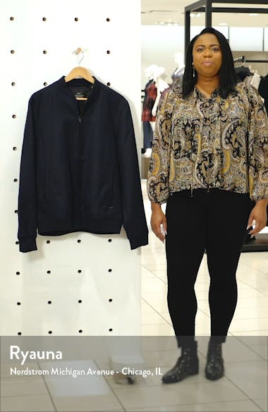 Chic Solid Bomber Jacket, sales video thumbnail