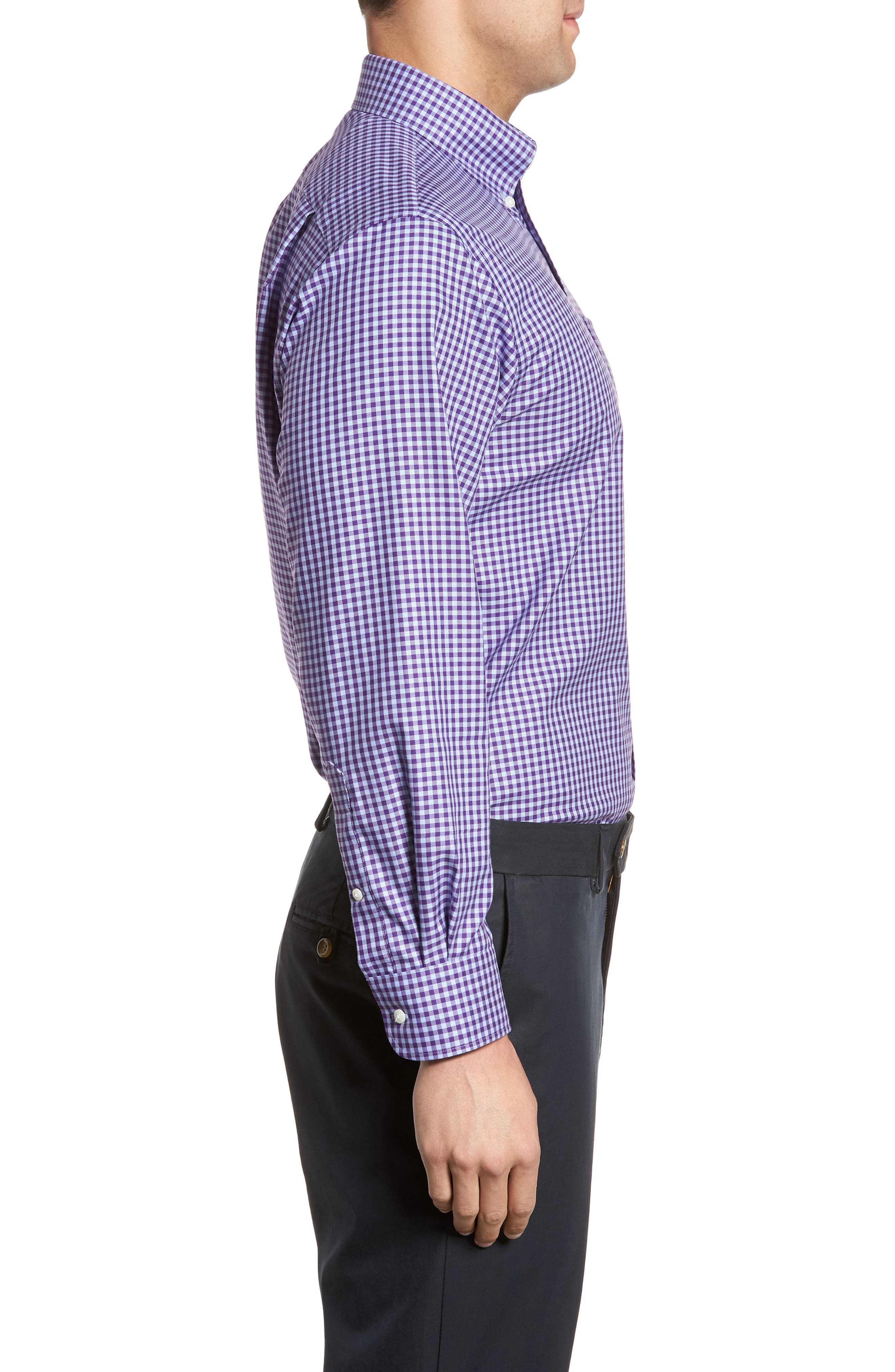 ,                             Traditional Fit Non-Iron Gingham Dress Shirt,                             Alternate thumbnail 67, color,                             520