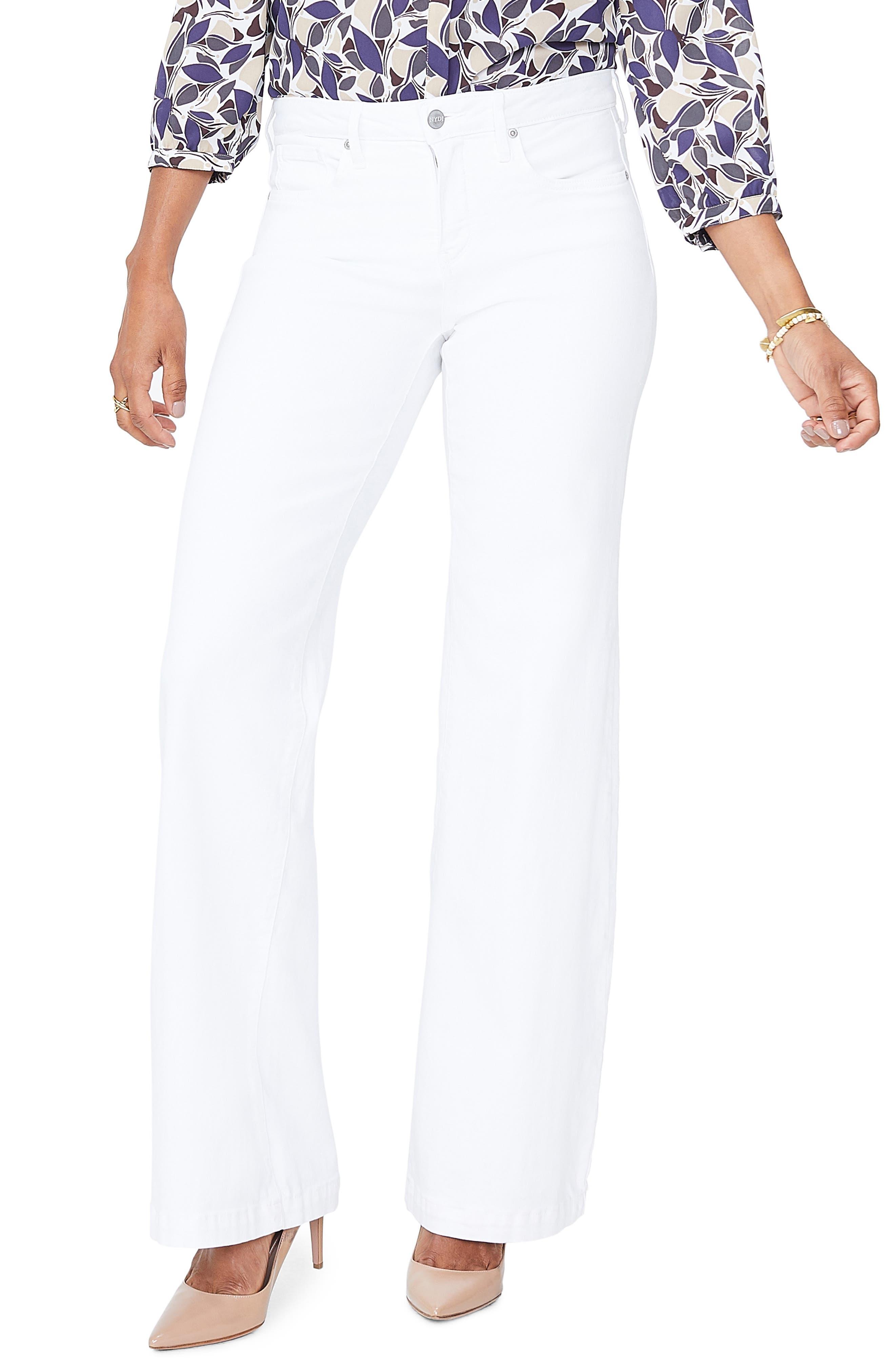 Women's NYDJ Wide Leg Trouser Jeans