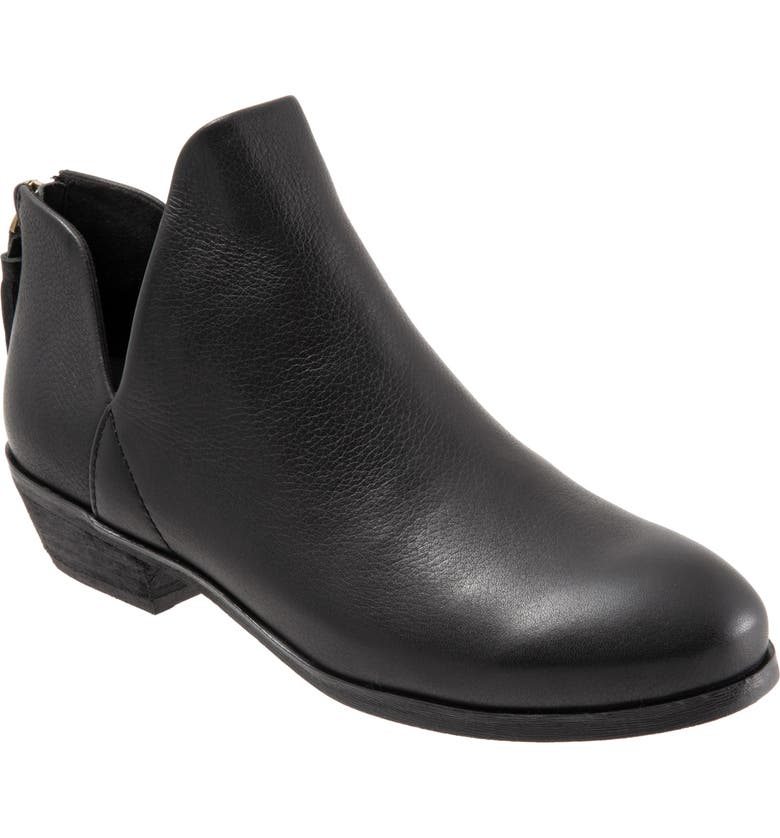SOFTWALK<SUP>®</SUP> Rylee Bootie, Main, color, BLACK/BLACK LEATHER