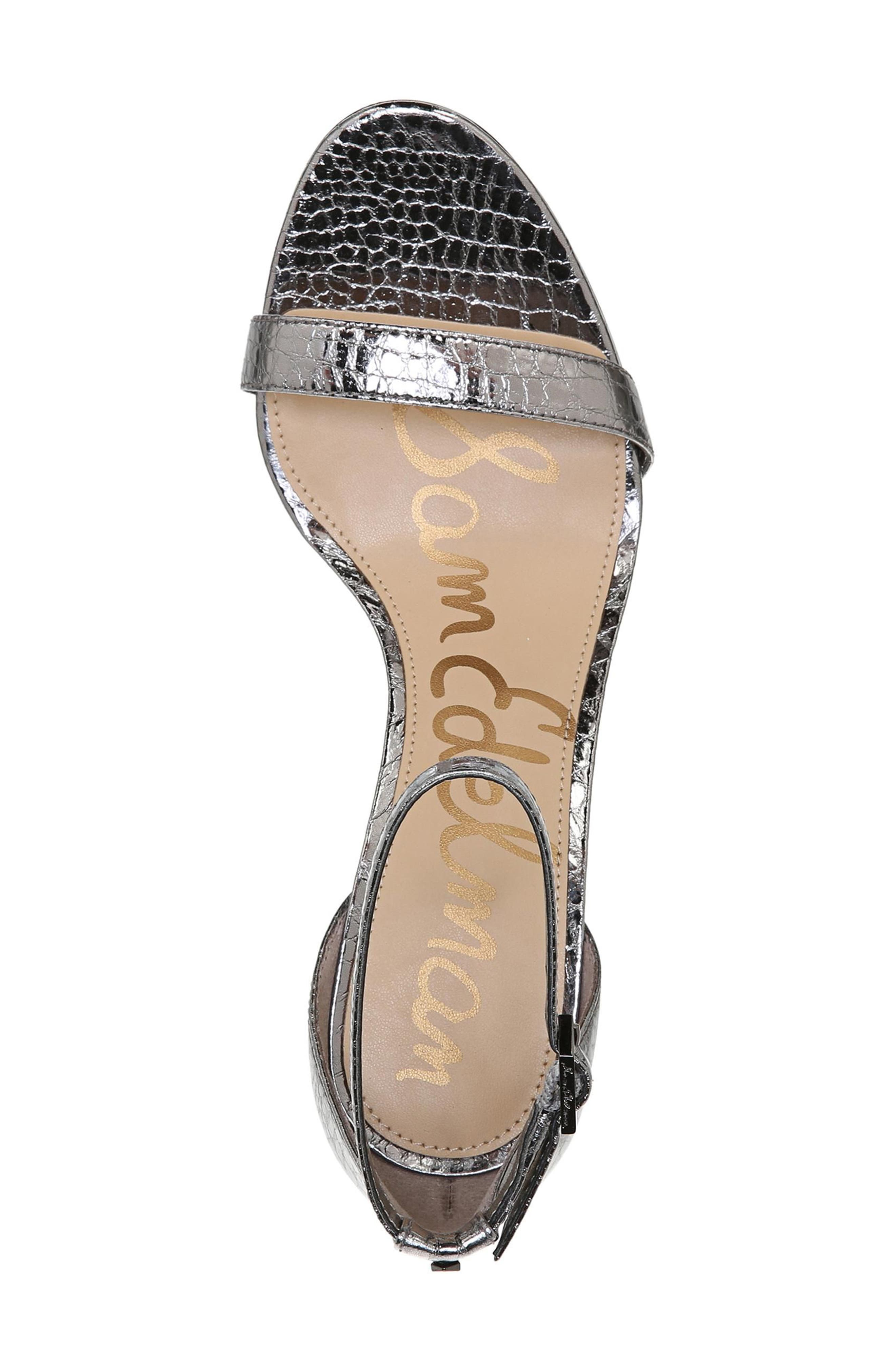 ,                             'Patti' Ankle Strap Sandal,                             Alternate thumbnail 55, color,                             097