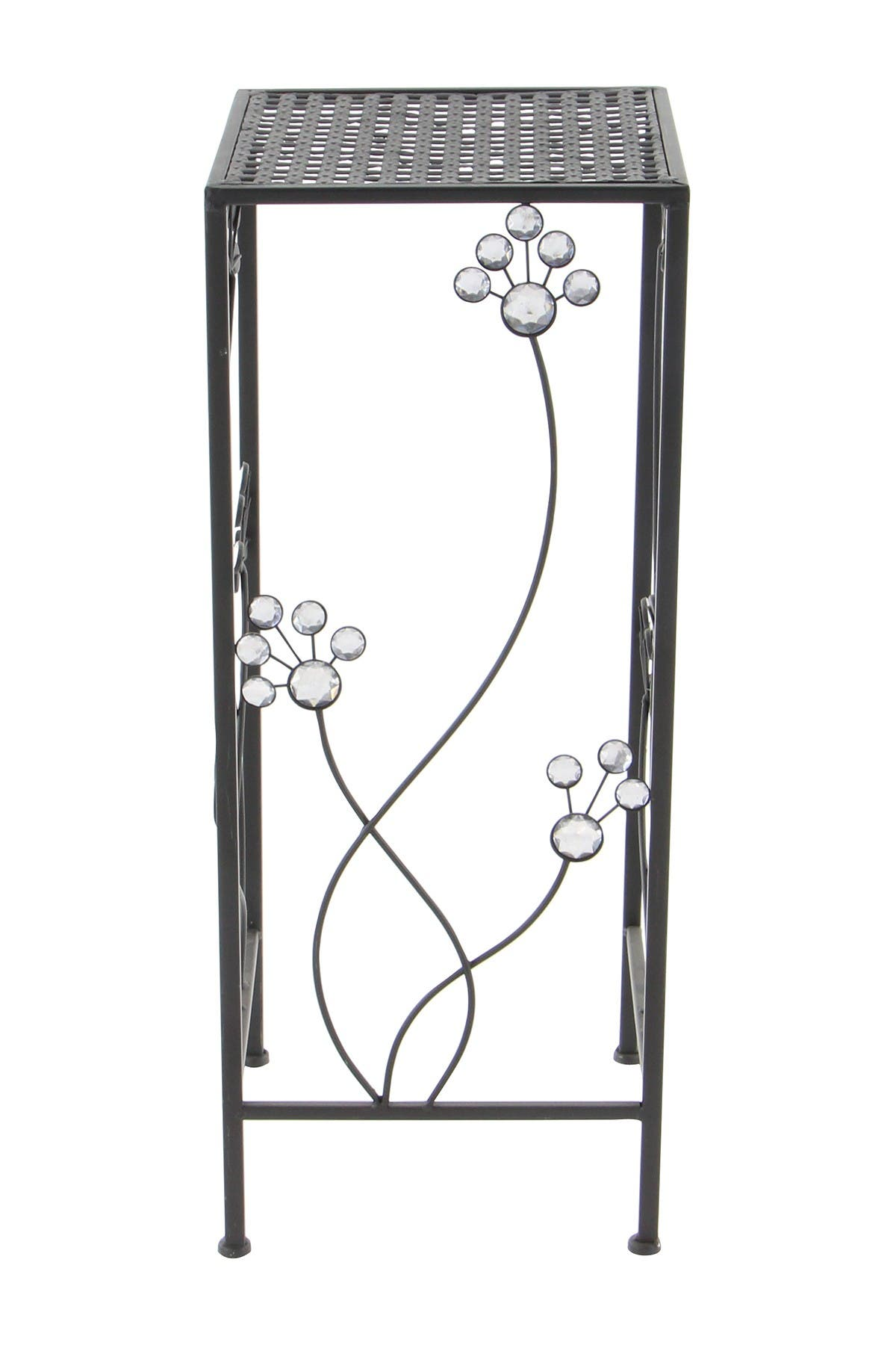 Image of Willow Row Metal Plant Stands - Set of 3