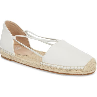 Eileen Fisher Lee Espadrille Flat, White