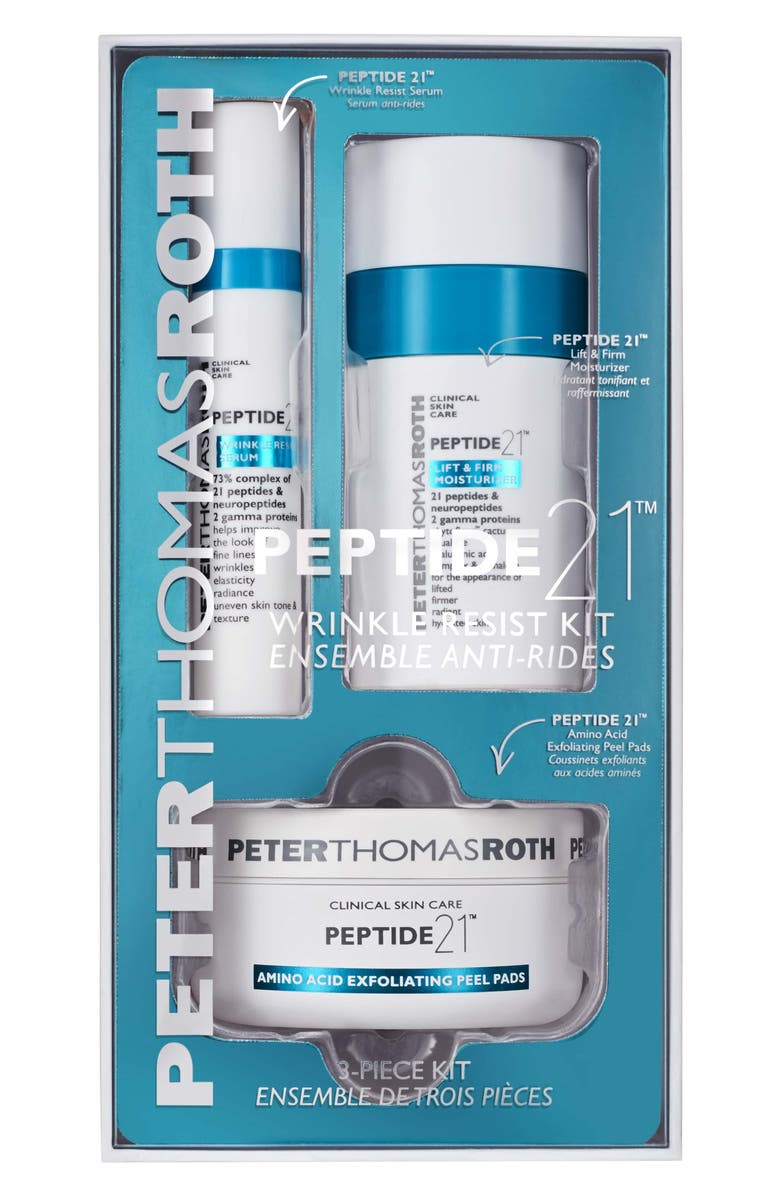PETER THOMAS ROTH Peptide 21 Wrinkle Resist Kit, Main, color, NO COLOR