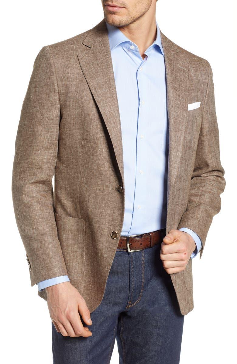 PETER MILLAR Hyperlight Classic Fit Sport Coat, Main, color, 200