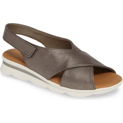 The Flexx Capri Slingback Sandal, Metallic