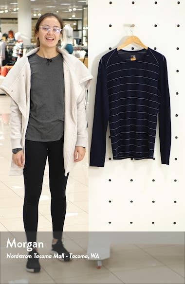 Oasis Long Sleeve Merino Wool Base Layer T-Shirt, sales video thumbnail