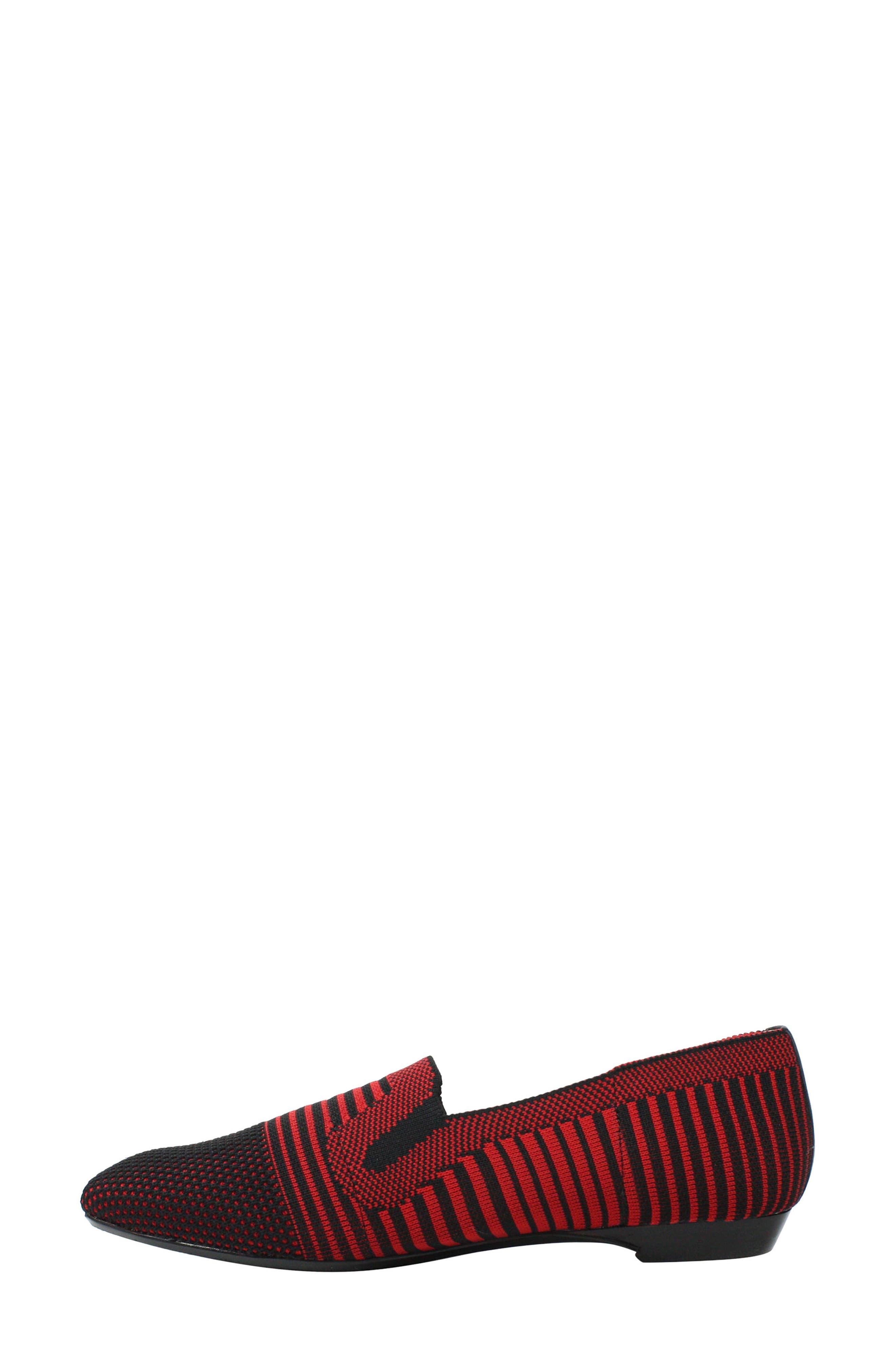 ,                             Martyne Smoking Slipper,                             Alternate thumbnail 7, color,                             RED/ BLACK