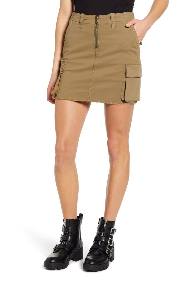 PTCL Cargo Miniskirt, Main, color, 310
