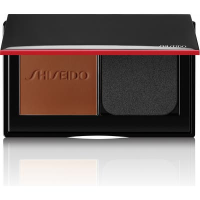 Shiseido Synchro Skin Self-Refreshing Custom Finish Powder Foundation - 530 Henna